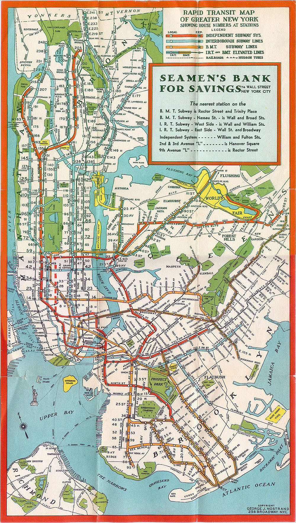 manhattan new york subway map 1930 subway map of manhattan new york 1930