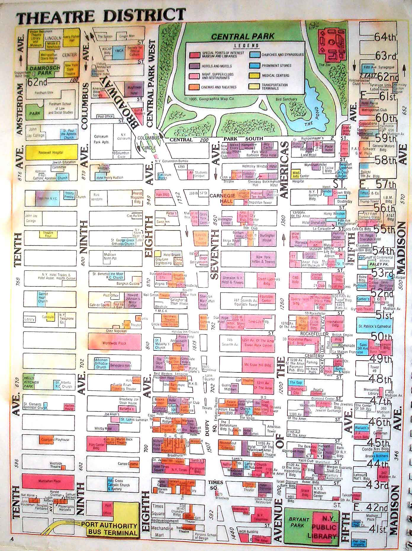 Tourist New York Map – New York City Tourist Map Printable