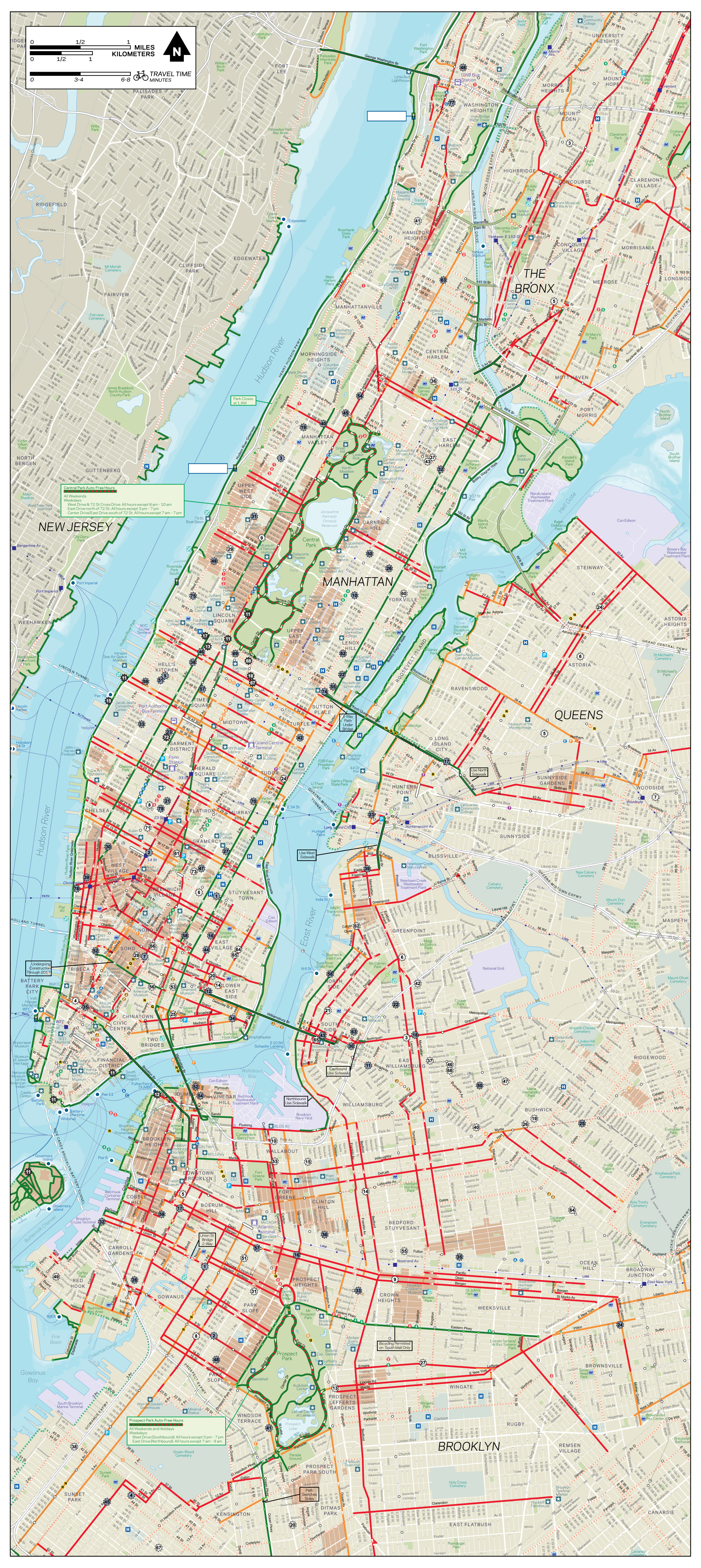 detailed road map of new york state pdf